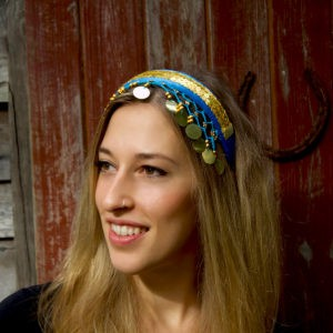 Head bands with sequins
