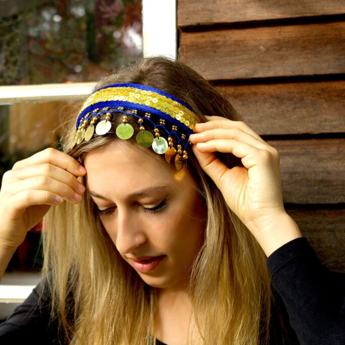 Bollywood headbands