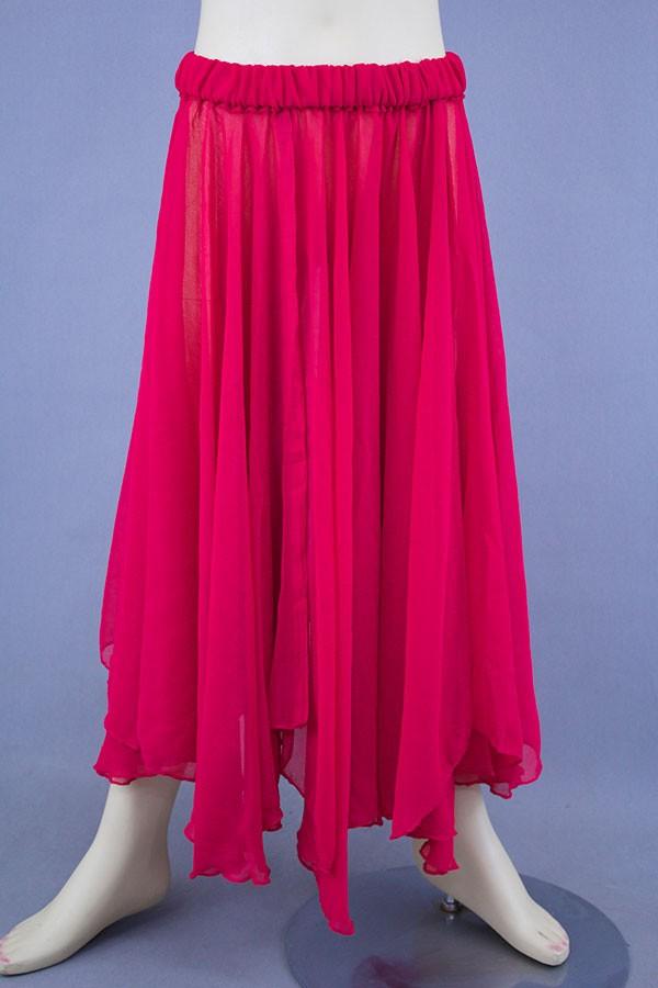 Chiffon Layered Dance Skirts