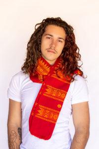 Assamese games Indian scarf