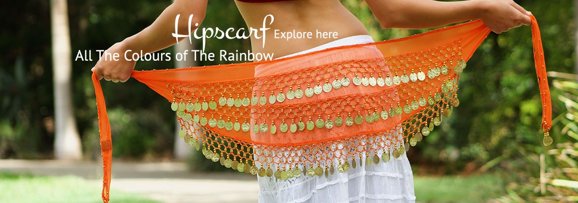 Hip scarf for Bollywood , Bellydance and dance party