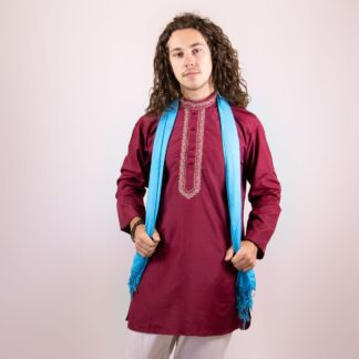 mens bollywood costumes Burgundy