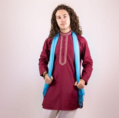 mens bollywood costumes Burgundy