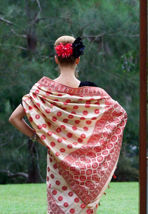 Indian Mekhela for formal occasion