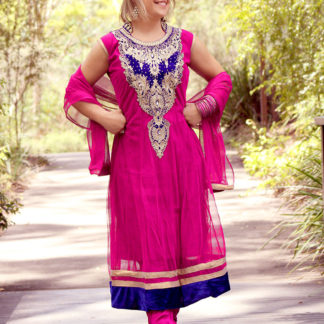 Bollywood costumes Pink