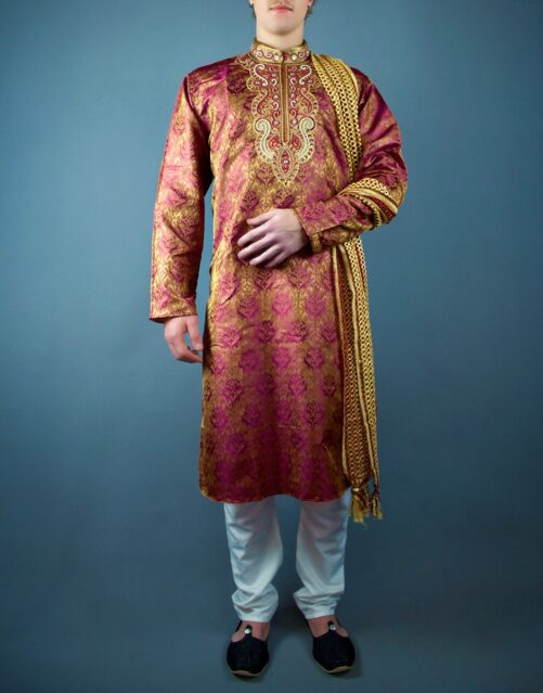 Indian Bollywood Mens Kurta Set