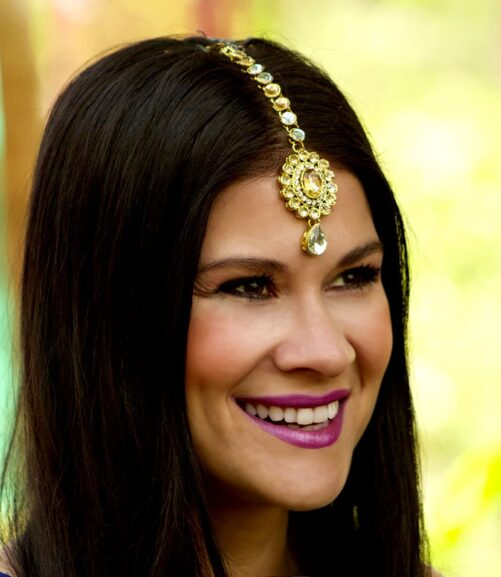 Tikli for forehead Indian Bollywood accessories