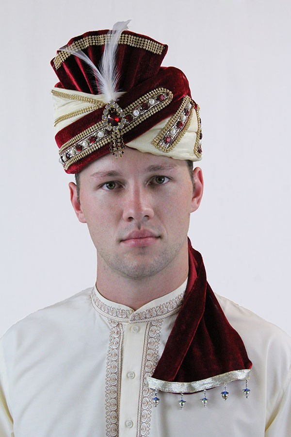 Indian Turban Style 3 Devs Costumes Australia