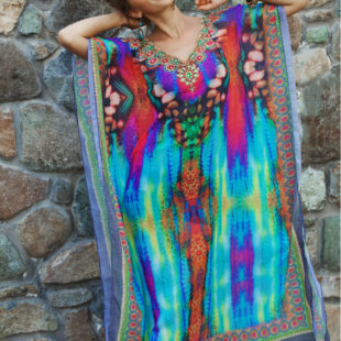 Indian Whisper Long Maxi Kaftan 5