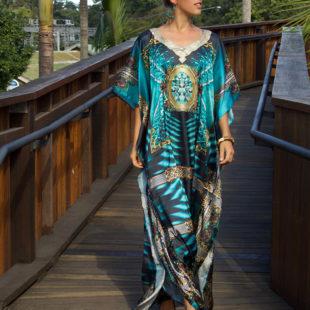 Maxi Kaftan Style Queen Akasha