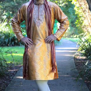 Shades of Gold Kurta & Pants Set