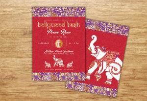 Bollywood invitation