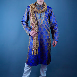 Shades of Blue Kurta & Pants Set