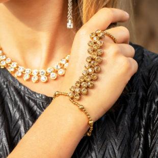 Chain Bracelet Ring