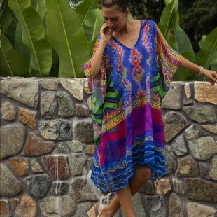 Pahi Midi Dress Kaftan 5