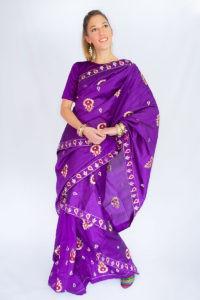 Mkhela sador Indian Saree style