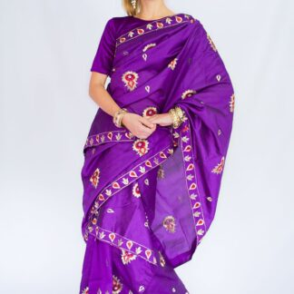 Mkhela sador Indian Saree style