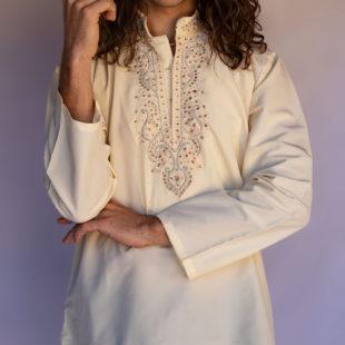 Silk Indian Short Kurta