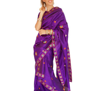 Indian Saree Mekhela Sador 9