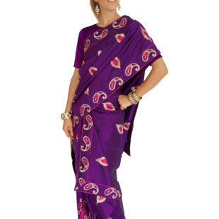 Indian Saree Mekhela Sador 8