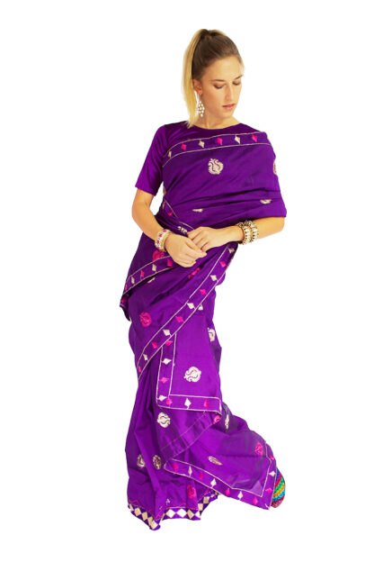 Mekhela Sador Indian Saree