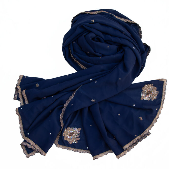 Indian vintage veil