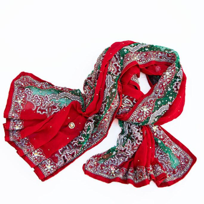 Indian vintage veil bollywood style