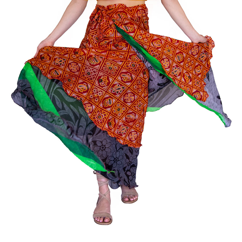Indian saree skirt